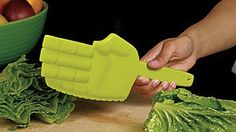 A Knife That Karate Chops Your Food