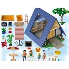 Playmobil old Vacation House