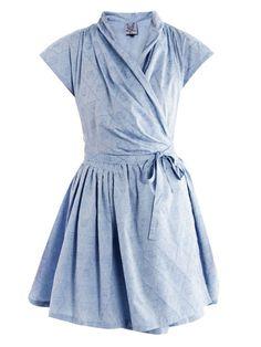 Isolde wrap dress