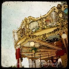 """TITLE : """"Le Manège #6"""" (The Carousel #6) by Marc Loret (from Rennes, Brittany, France)"""