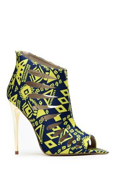 Red Kiss Summer Dance Yellow and Blue Bootie @ Cicihot. Booties spell style, so if you want to show what you're made of, pick up a pair. Have fun experimenting with all we have to offer!