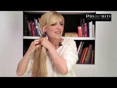 Peinados fáciles: trenza escalera paso a paso - YouTube