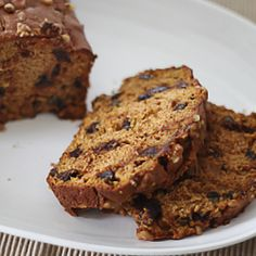Add some chocolate chips to your pumpkin bread for an extra special sweet treat!