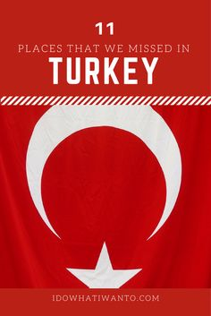 Other places in Turkey that we missed but are still on our bucket list, get the most of this beautiful country!