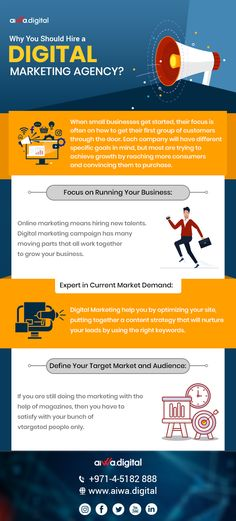 If You looking at your shortlisted marketing options, you have got SEO, PPC, email, social media, blogging among other options. Here, a few examples of what a digital marketing agency can do for you. Focus on Running Your Business:  #DigitalMarketingAgency Digital Marketing Strategy, Digital Marketing Services, Online Marketing, Branding Services, Seo Services, Marketing Goals, Content Marketing, Digital Media Marketing, Social Media Marketing