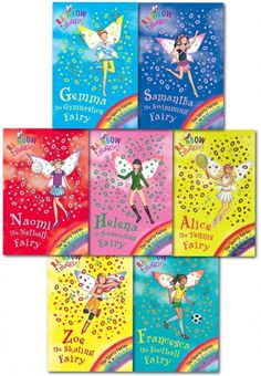 Rainbow Magic Series 9 Sporty Fairies Collection 7 Books Set (Books 57 To 63) by Daisy Meadows  #RainbowMagic #SportyFairies #Fairy #Fairies #Sporty  http://www.snazal.com/rainbow-magic-series-9-sporty-fairies-collection-7-books-set--DEALMAN-U5-SportyFairies-7bks.html