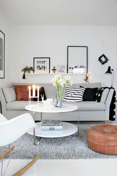 If You Have A Small Living Room, Donu0027t Hang Your Head As Such A Space Can  Be Decorated With Style! Take Into Consideration That Dark Colors Make  Spaces Loo Part 93