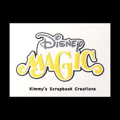 A personal favorite from my Etsy shop https://www.etsy.com/listing/477490964/disney-magic-scrapbook-title-premade