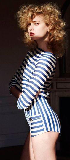 3fddf3cd30a3 40+ Outfits You Must Try. Breton StripesStripes ...