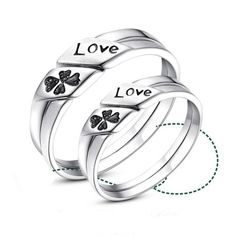 2f7bf8c12f 16 Best Couples Rings images | Couple rings, Promise rings for ...