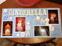 Double page Cinderella layout