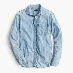 Shop the Always Chambray Shirt at JCrew.com and see the entire selection of Women's Shirts.