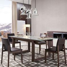 J&M Furniture 5 Piece Dining Set