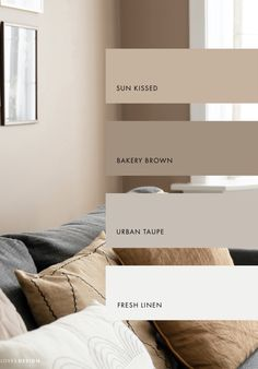 Bedroom Colors, Bedroom Decor, Home Interior Design, Interior Decorating, House Color Palettes, Paint Colors For Home, House Rooms, Home Living Room, Home Deco