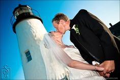 Pemaquid Point Lighthouse wedding