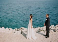 Gorgeous wedding reveal shot (and we love her dress!)