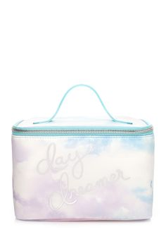 Head In The Clouds Travel Cosmetic Case | FOREVER21 #F21Cosmetics #Makeup
