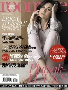 Agter die skerms met Erica Wessels: Maart 2019-uitgawe Beautiful Cover, Kos, Movie Posters, Fresh, Healthy, Film Poster, Popcorn Posters, Film Posters, Posters
