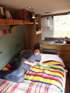 Camper van hire - Somerset - Douglas - Quirky Campers