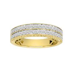 14k Gold 1/2-ct. T.W. IGL Certified Diamond Wedding Ring, Women's, Size: 6.50, White