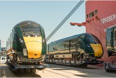 Hitachi's first intercity train for Devon and Cornwall route arrives in UK Uk Rail, National Rail, Train Companies, High Speed Rail, Train Service, Devon And Cornwall, Electric Train, Trains, Europe
