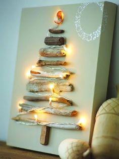 Top 25 DIY Driftwood Christmas Trees…