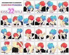 Karma x Nagisa kiss 22 title