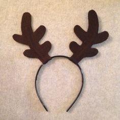 Antlers deer elk reindeer frozen sven headband by Partyears