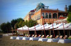 Playa del Hotel Excelsior, Lido, Venecia