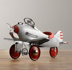 Vintage Pedal Plane | Riding Toys | Restoration Hardware Baby & Child