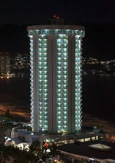 Hotel Calinda Beach Acapulco de noche