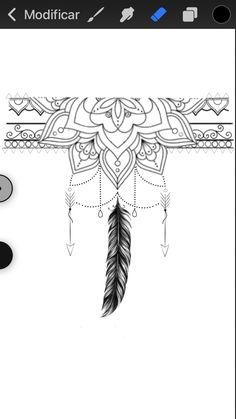 Mandala Tattoo, Arm Tattoo, Dots To Lines, Four Arms, New Tattoos, Tatting, Band, Drawings, Tattoos