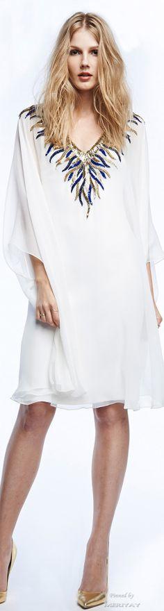 Reem Acra Resort 2015.  http://es.pinterest.com/meriyay/fashion-dresses-ii/