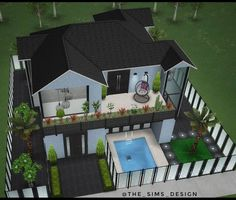 The Sims, Sims Freeplay Houses, Sims Free Play, Interior Decorating, Interior Design, Building, Instagram, Outdoor Decor, Minecraft