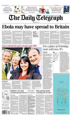 Daily Telegraph - 10.10.2014