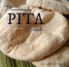 Make homemade pitas!  |  Lavende & Lemonade
