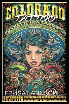 FelisaLatinSoul @Tattoo Convention