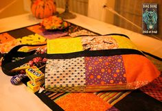 "Used this tutorial in 2009 for Trick or Treat bags. Perfect! Using this year with Happy H""owl""-o-ween by Deb Strain."