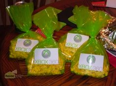 Xbox 360 House Party Favors  I added...thanks for coming to my party!