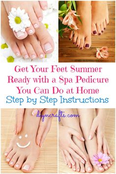 Get Your Feet Summer Ready with a Spa Pedicure You Can Do at Home