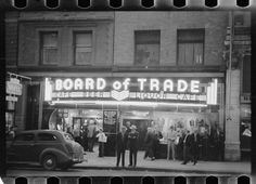 Board of Trade, 16-18 East Park St., Summer of 1939, Butte, MT