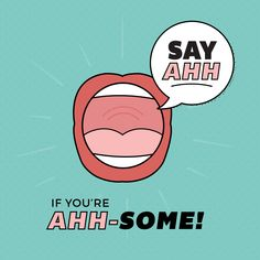 LUCKY FOR US, our patients are aah-some! Thanks for all that you do! #parkridgedentist