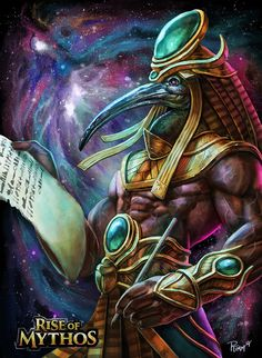 Thoth, Andy Timm on ArtStation at https://www.artstation.com/artwork/8lrG6