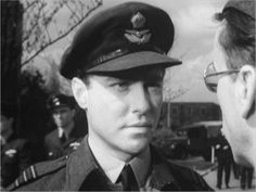 Richard Todd as Guy Gibson in The Dambusters.