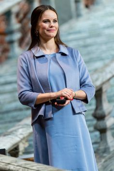 Princess Sofia of Sweden attends Sophiahemmet's 2017 graduation and brooch presentationi ceremony at the Stockholm City Hall on 9 June 2017. Sophiahemmet University originates from the nursing study program established in 1884 by Queen Sophia. Princess Sofia has been appointed as the honorary chair of Sophiahemmet.