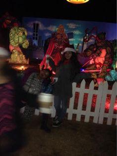 Me with my best friend. #SantaLand