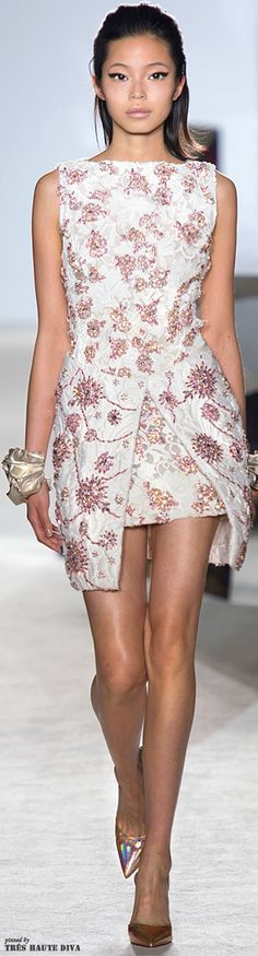 Giambattista Valli Printemps / Spring 2014 Couture ♤Melyk