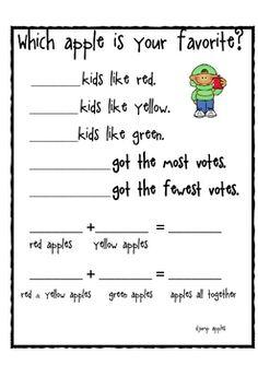 apple graph preschool apples preschool apple theme apple activities literacy activities apple