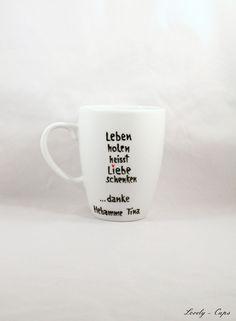 Hebamme Geschenk Tasse für Geburt für Hebamme  von Lovely-Cups   auf DaWanda.com