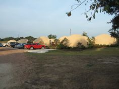 Fully Occupied — All sixteen of the completed domes are currently rented and there is a waiting list.